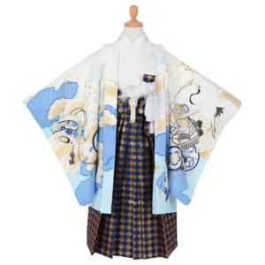 夢館ホームページより引用  【五歳】白×水色 鶴に宝船